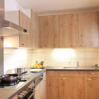 Voorbeeld chalet keuken