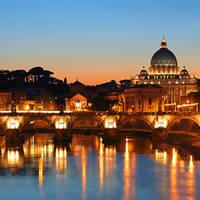 6 daagse vliegreis kerst in rome met klm