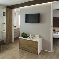 Woon/slaapkamer voorbeeld