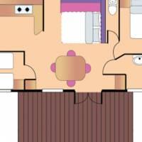 Voorbeeld 3-kamerstacaravan Confort+ Premium