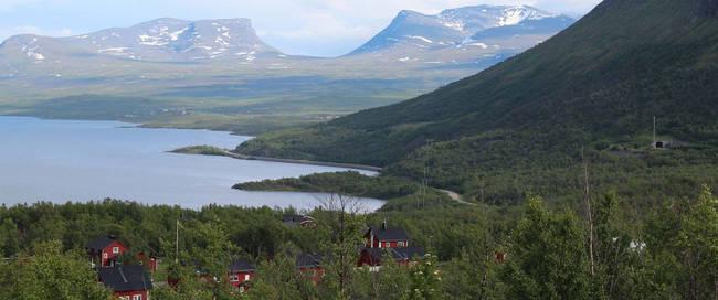 Grens Zweden en Noorwegen