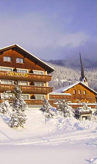 Hotel Danilo/Pianta