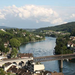 Zicht over de Rijn