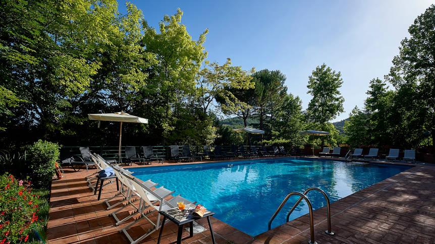 Zwembad Park Hotel Chianti
