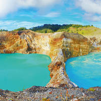 Kratermeren National Park Kelimutu