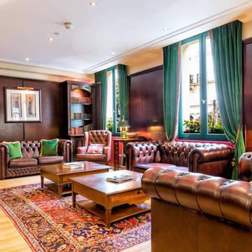 Lounge Hotel Villa Pantheon