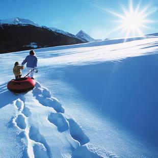Mayrhofen winter sfeer