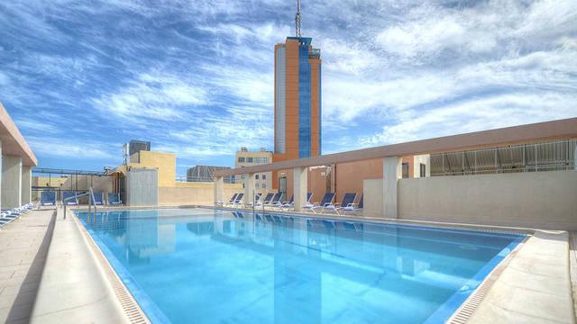Zwembad Hotel Alexandra