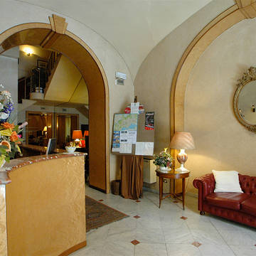 Receptie Hotel Nuovo Rebecchino
