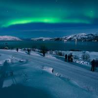 Noorderlicht in Tromsø Scandic Grand Hotel