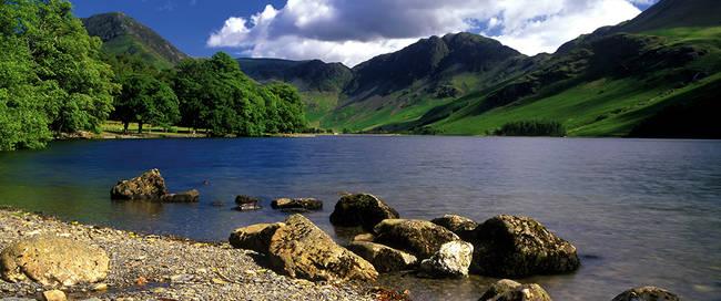 Uitzicht Lake District