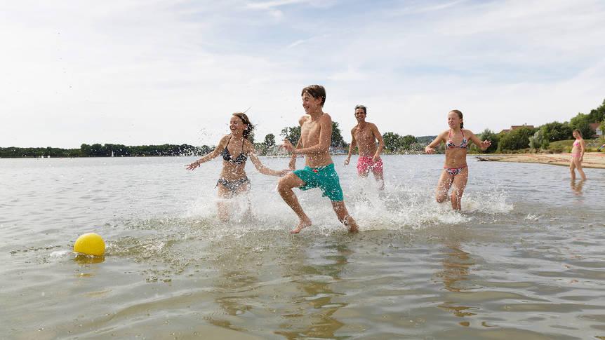 Strand Vakantiepark Center Parcs Le Lac d'Ailette
