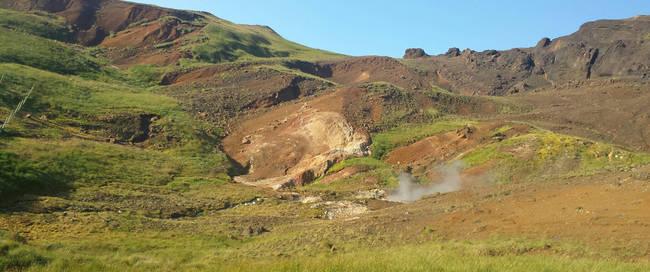 Landschap Hveragerdi - Foto: Iceland Travel