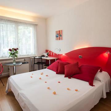 Voorbeeld kamer Hotel Vezia