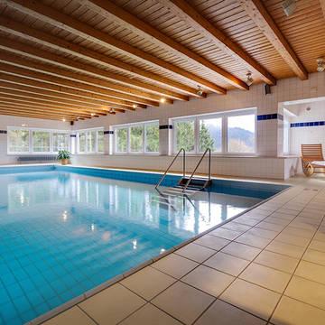 Binnenzwembad Hotel Panorama