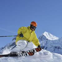 Aan het skien