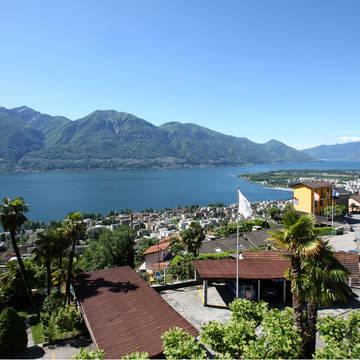 Uitzicht Lago Maggiore Hotel Dellavalle
