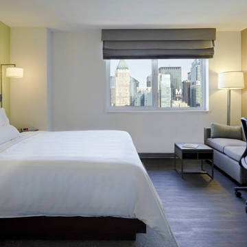 Kamer met Kingsize bed Hotel Element Times Square West (by Westin)