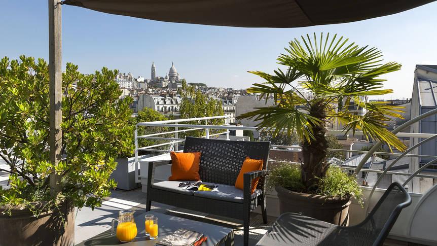 Dakterras Appartementen Citadines Montmartre