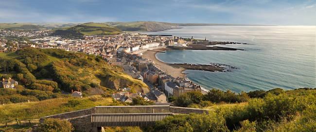 Aberystwyth - Constitution Hill