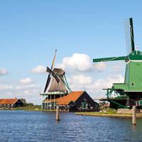 Windmolens bij de Zaanse Schans