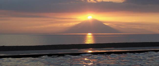 Zonsondergang op Lombok