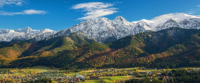 Zakopane - Tatra gebergte