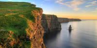 8-daagse vlieg-busrondreis Ierland in Vogelvlucht