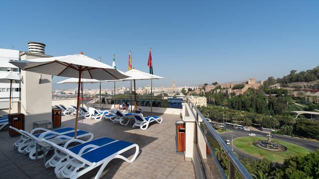 Uitzicht Hotel MS Maestranza Malaga