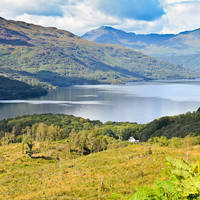 Loch Lomond landschap