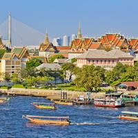 Chao Praya rivier, Bangkok