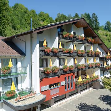 Vooraanzicht Hotel Sonnenhof