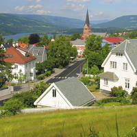 Stadsbeeld Lillehammer