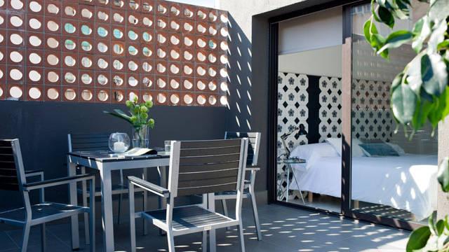 Penthouse Terras Appartementen Eric Vökel Boutique Bcn Suites