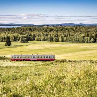 Inlandsbanen, Zweden
