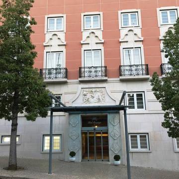 Aanzicht Hotel Miraparque