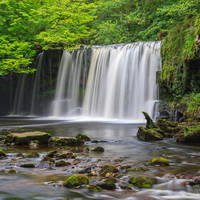 Brecon Beacons National Park - Pontneddfechan waterval