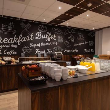 Ontbijtruimte 3- of 4-daags arrangement 'Ontdek Groningen' - Best Western Hotel Groningen Centre