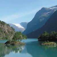 Gletsjermeer bij Loen