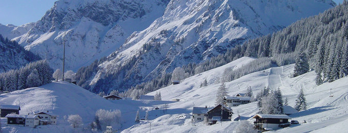 Wintersport Mittelberg