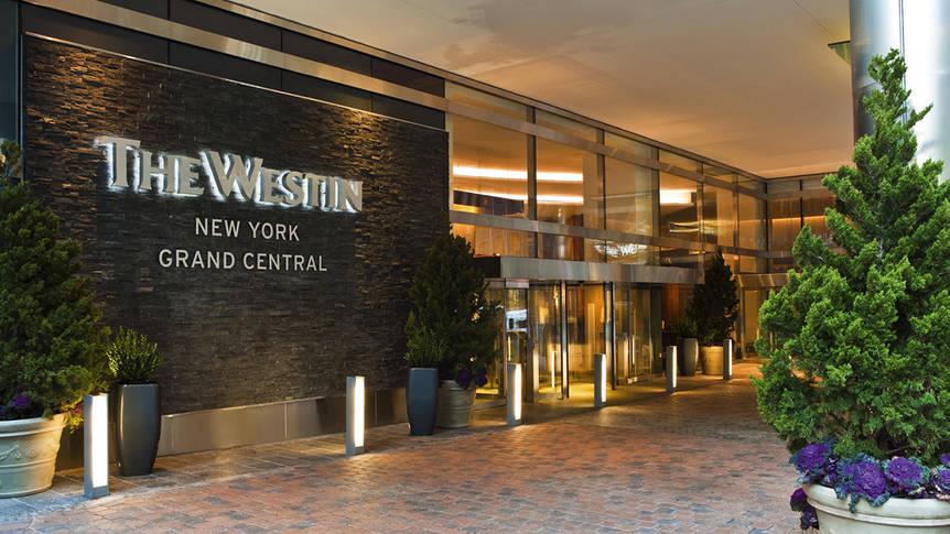 Voorzijde Hotel The Westin New York Grand Central