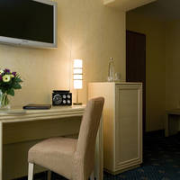 Hotel Friederike- hotelkamer bureautje