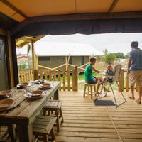 Lodge 3 chambres salle à manger Domaine du Pré