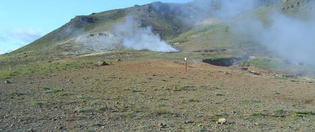 Hveragerdi landschap - Foto: Iceland Travel