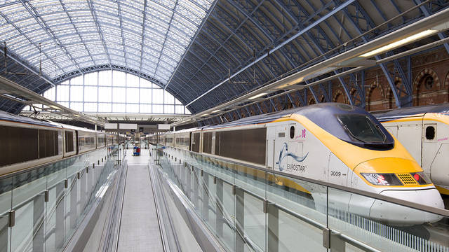 € 50 korting p.p. op treinreizen Londen