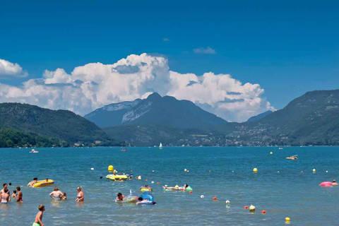 Korting camping vakantie Franse Alpen 🏕️Camping La Ferme de la Serraz