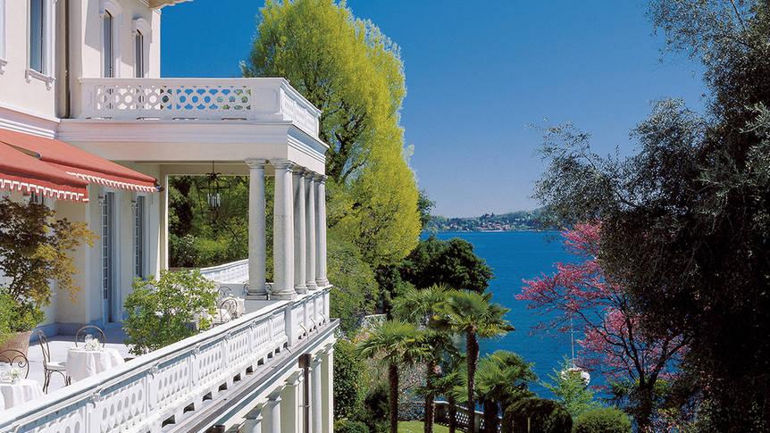 uitzicht Grand Hotel Majestic