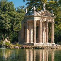 Villa Borghese op ca. 10 minuten wandelen