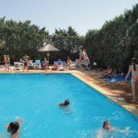 Zwembad sfeer