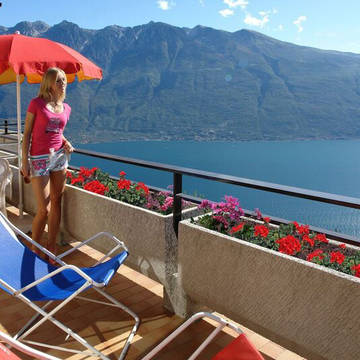 Voorbeeld balkon Residence La Rotonda